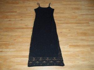 Kleid von Alpha Paris in Gr. 34 schwarz mit Spitze -> NEU
