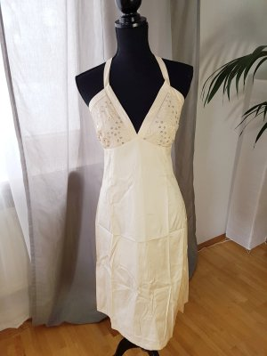 Kleid von Ana Alcazar, 100 % Seide, Gr 38, creme, neu
