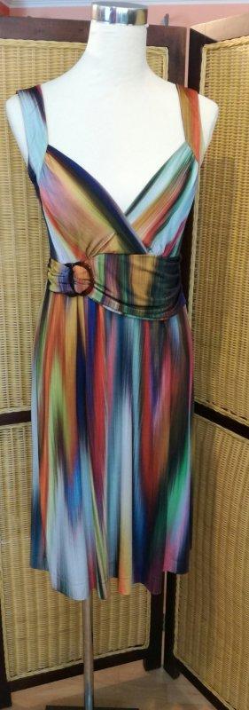 Ana Alcazar Pinafore dress multicolored viscose