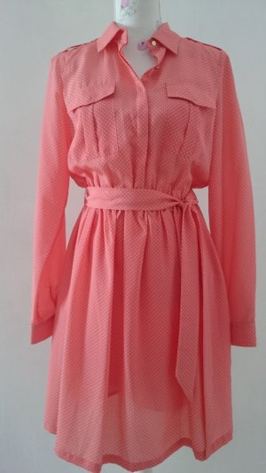Apart Dress white-salmon