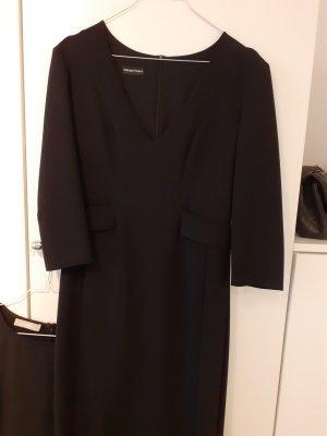 Armani Collezioni Robe trapèze noir