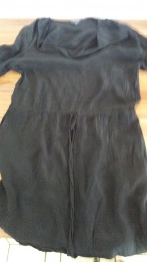 Armani Jeans Mini-jurk zwart-bruin Viscose