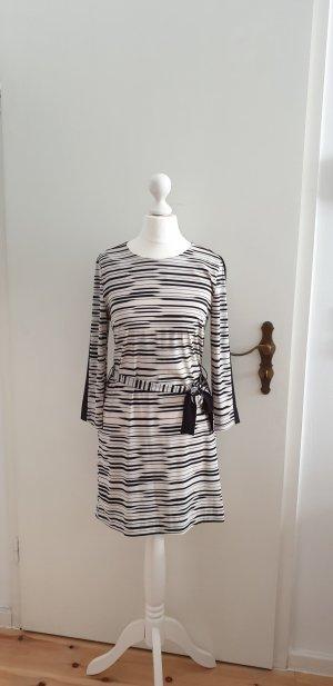 Armani Exchange Robe courte noir-blanc cassé