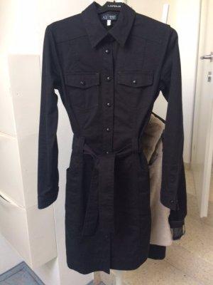 Armani Jeans Denim Dress black