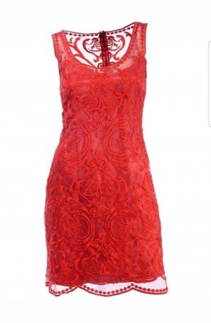 Ashley Brooke Dress red