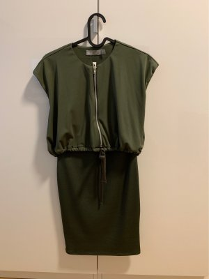 Asos Petite Mini Dress dark green