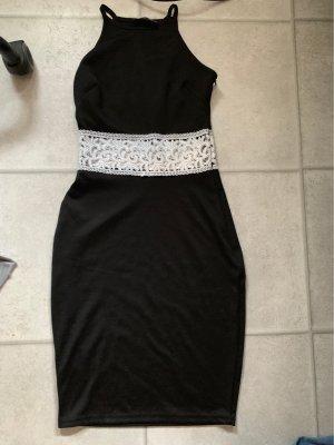 Asos Mini Dress black-white
