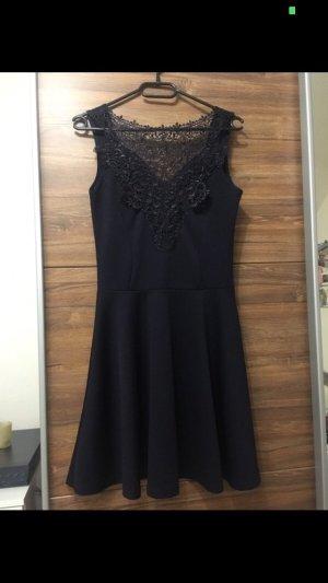 Asos Cocktailjurk zwart-donkerblauw