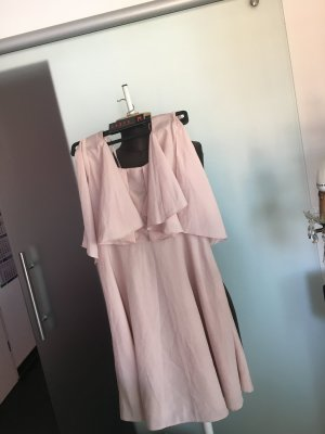 Kleid von Asos Gr 32 34 XS Altrosa