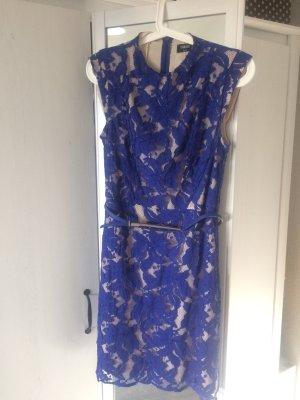 Kleid von ASOS in Königsblau / Spitzenkleid