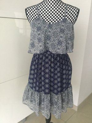 Kleid von Atmosphere at Primark, Gr. 36 S blau weiß Blogger Boho Hippi
