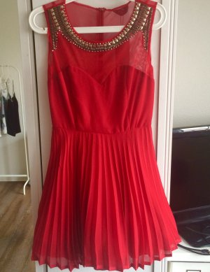 AX Paris Robe courte rouge