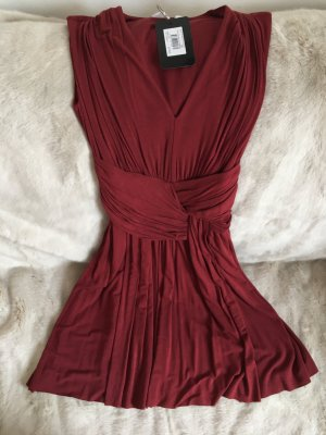 Bailey44 Dress dark red rayon