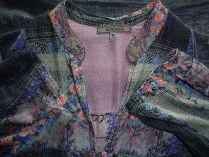 Bershka Vestido camisero multicolor Algodón