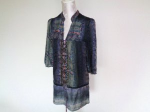 Bershka Blouse Dress multicolored cotton