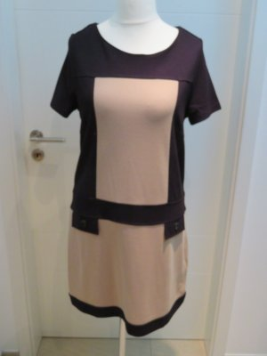 Betty Barclay Mini Dress dark green-beige