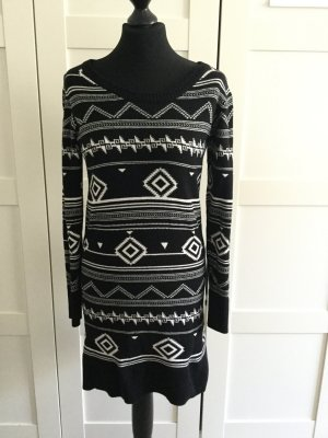 Billabong Sweater Dress white-black cotton