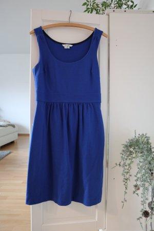 Boden Robe trapèze bleu coton