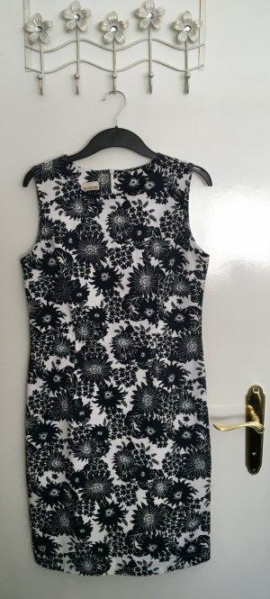 Brookshire Sheath Dress white-dark blue