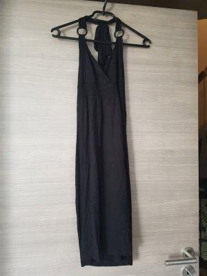 Buffalo London Robe de plage noir viscose