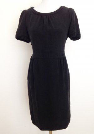 Burberry Robe noir soie
