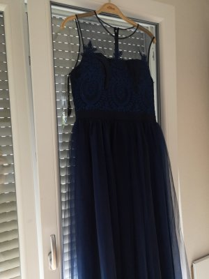 Chi Chi London Evening Dress petrol-cadet blue