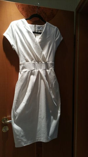 Closet Midi Dress natural white