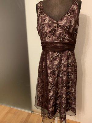Kleid von Coast Gr 40 42 L Seide