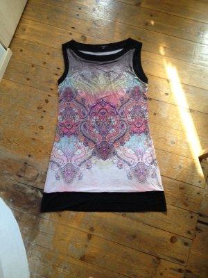 Comma Off-The-Shoulder Dress multicolored