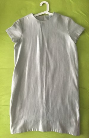 COS Robe fourreau argenté-gris clair viscose