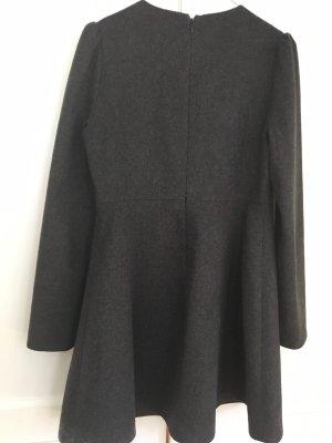 COS Wollen jurk grijs
