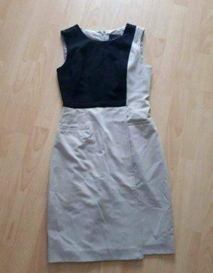 Cynthia Rowley Pinafore dress black-oatmeal