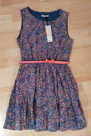 Kleid von Darling Gr. 36 - blau - süßer Gürtel - romantisch - NEU!