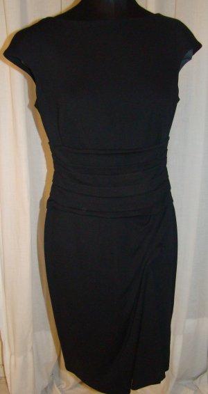 Escada Robe de soirée noir fibre textile