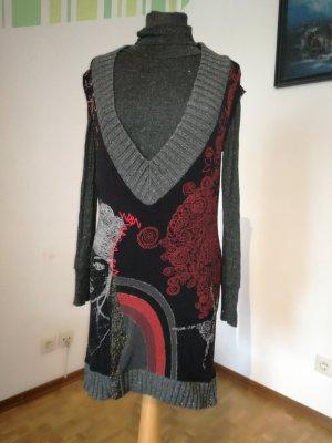 Kleid von Desigual, Langes Shirt, Pullunder, Strickkleid