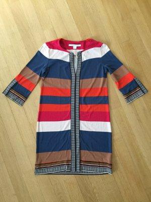 Diane von Furstenberg Abito a tunica multicolore Seta