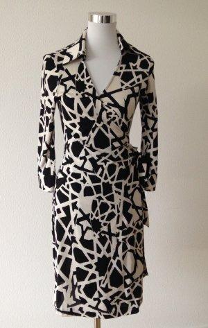 Diane von furstenberg kleid grau