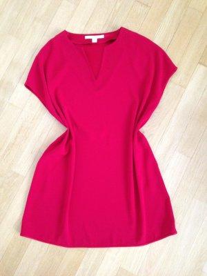 Diane von Furstenberg Tunic Dress dark red