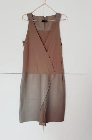 Kleid von Diesel black Gold gr. 40 Leder