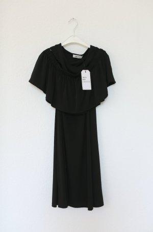 Kleid von Edited Schwarz neu mit Etikett ungetragen Vintage Look Gr. M