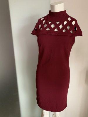Fashion in Love Pencil Dress bordeaux