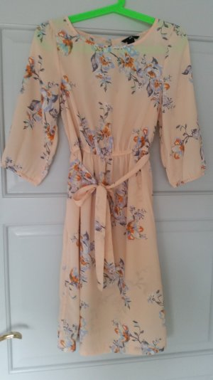 Kleid von H&M Gr. 36/S rosé mit Blumenmuster