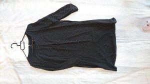 Kleid von H&M in Schwarz mit weißen Punkten