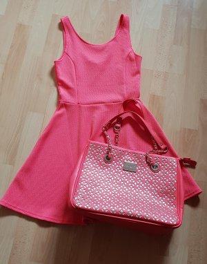 Kleid von H&M - koralle Gr. 34 & passende Tasche Sarah Kern - NEU!