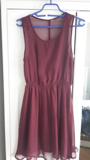 Kleid von H&M mit transparentem Oberteil