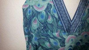 H&M Garden Collection Abito stile impero multicolore Tessuto misto