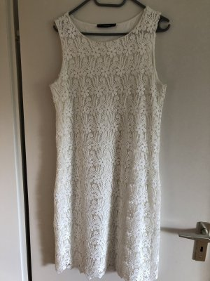 Hallhuber Lace Dress natural white