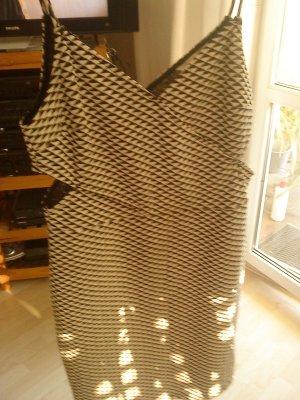 Kleid von HM in M schwarz weiß