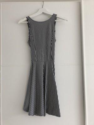 Hollister Cut Out Dress white-light grey