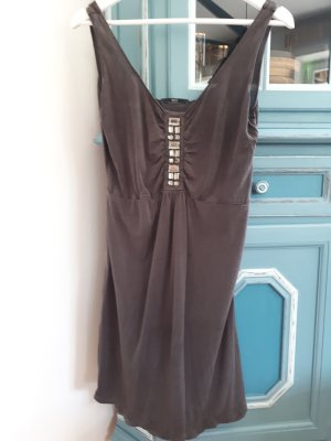 Hugo Boss Robe tunique marron clair